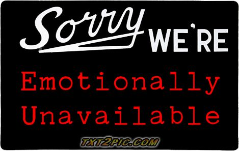 why emotionally unavailable