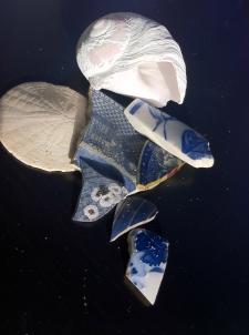 Broken Pottery from Japan