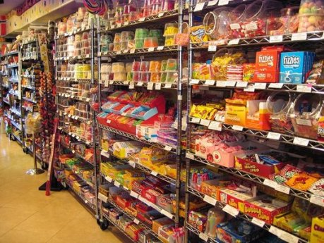 Wall of Sedating Candy
