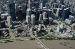 Calgary's Roads Become Rivers