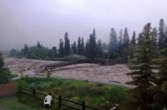 Canmore Flooding 2013